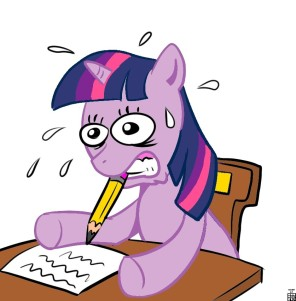 300919__safe_twilight%252Bsparkle_sweat_mouth%252Bhold_letter_pencil_writing_struggling_struggle